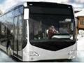 Winter Busfahrer